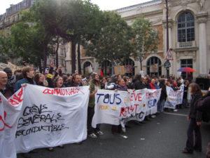 greve manifestation
