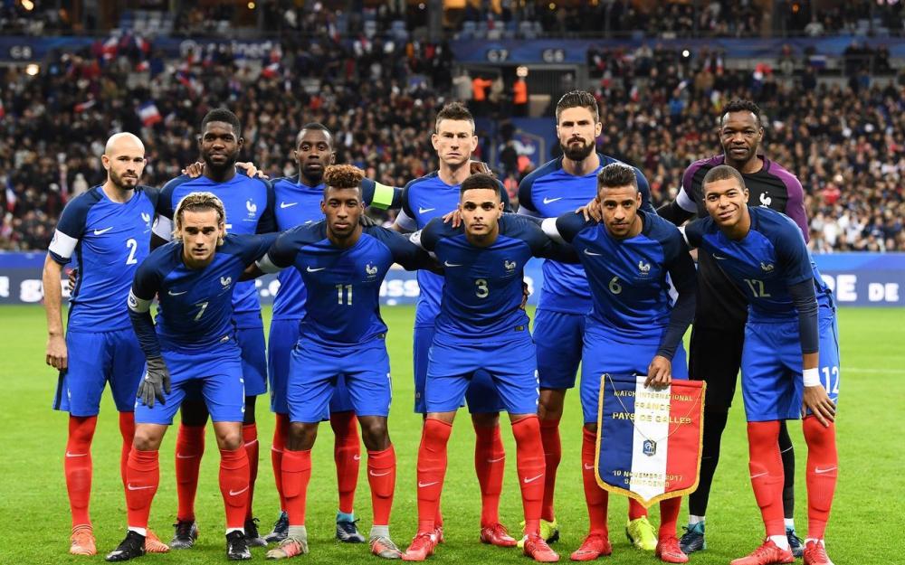 L'équipe de France de la coupe du monde 2018