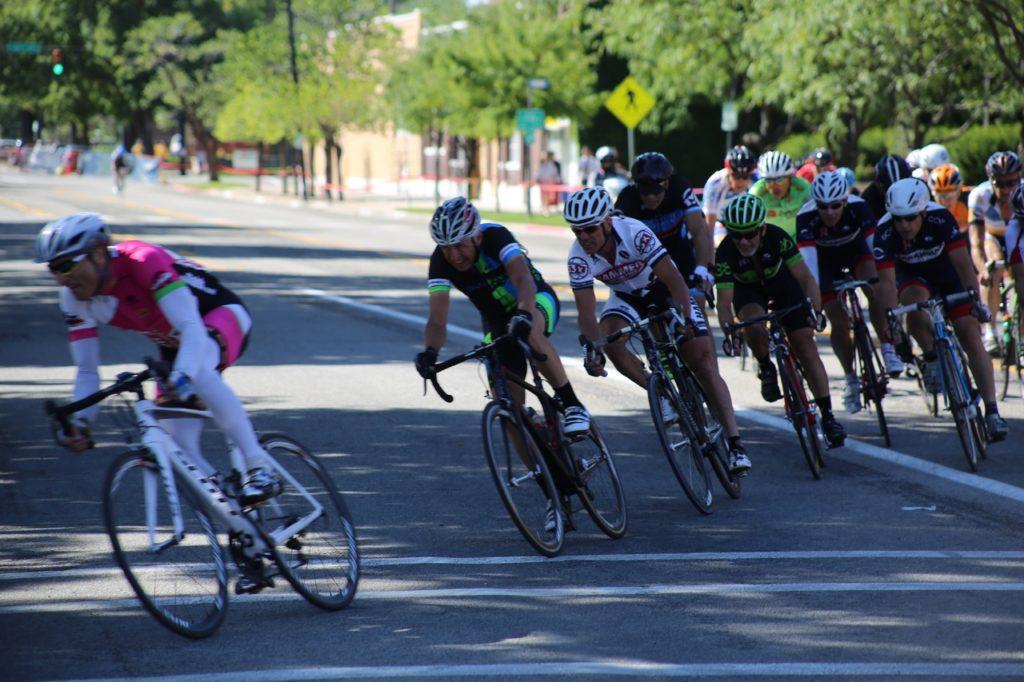 Des cyclistes de la Tour de France 2018