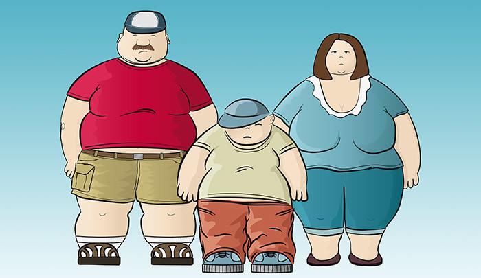 L'obésité, la maladie des temps modernes