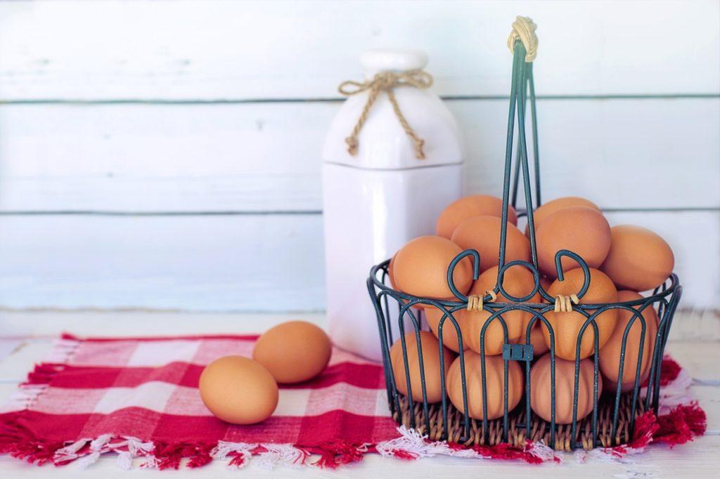 Des œufs de bonne qualité