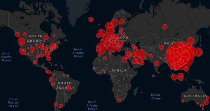 Covid-19 dans le monde : les pays les plus touchés par la pandémie
